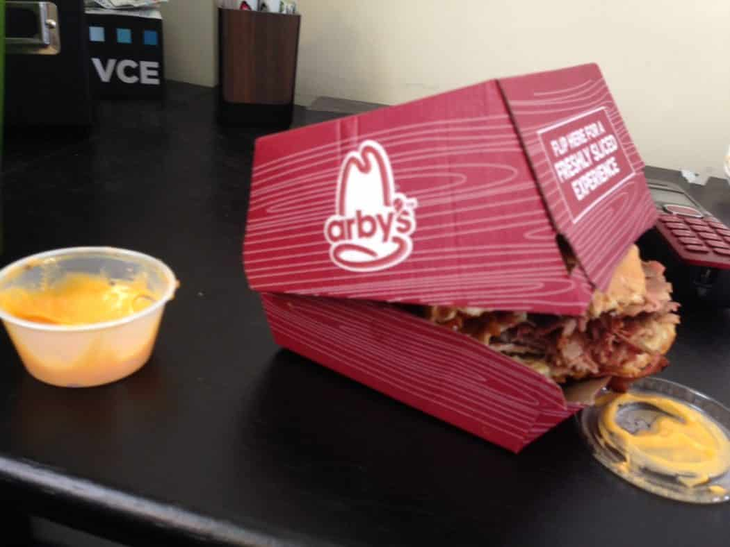Check Out Arbys New Smokehouse Brisket Sandwhich  Living and