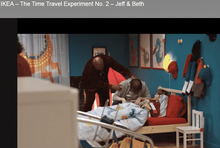Time Travel Experiment - Hypnotizing moment - Ikea Sponsored Review Article Thumbnail by Josh Bois Global Entrepreneur